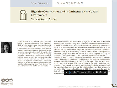 High Rise construction and its influence on the urban environment