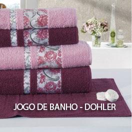 JOGO DE BANHO DOHLER