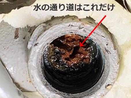 築23年経過したお風呂の排水管が凄かった(◎_◎;)