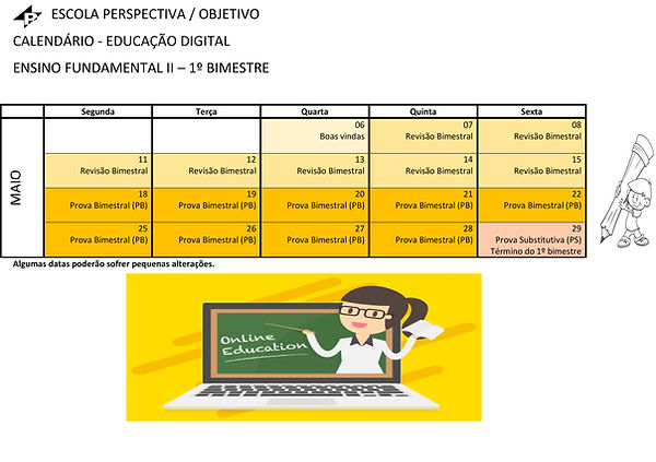 4 - CALENDARIO FUNDAMENTAL II - 1 e 2 BI