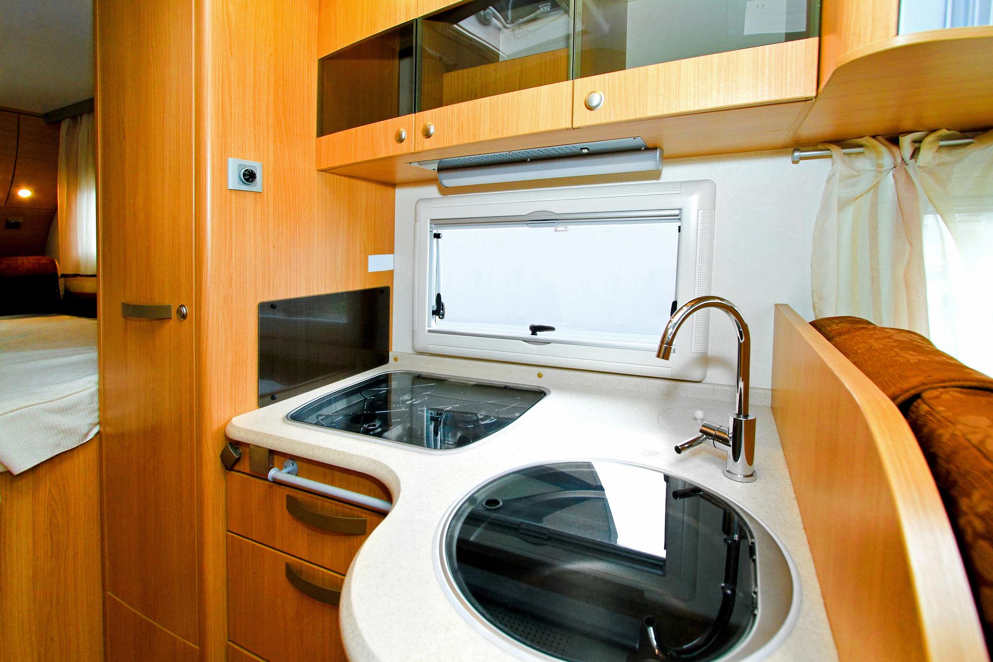 Caravan kitchen repairs and upgrades