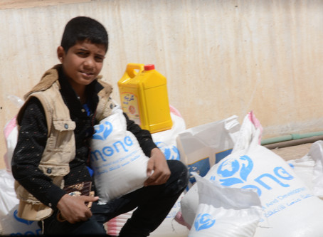 150 families receive food packages in Sana'a