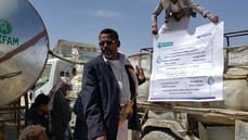 51,000L per day of clean water provided by Mona Relief to 3600 people at Khamir & Houth IDP sites