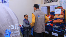 Mona Relief continues for the second day delivering Eid clothing to orphans in Yemen