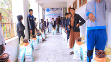 150 blinds receive food aid baskets in Sana'a