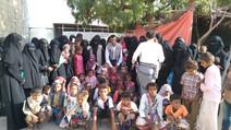 50 widows in al-Durehimi area of Hodeidah governorate in receive cash assistance