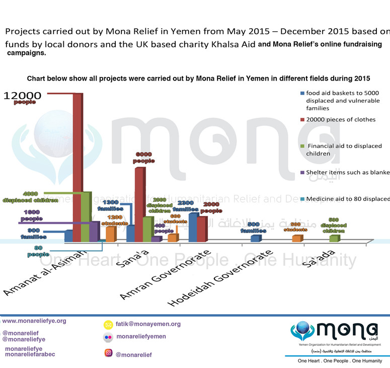 Mona Relief's projects in 2015
