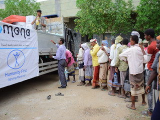 (3/3) FOOD DISTRIBUTION 1. OCTOBER 2020, HODEIDAH