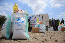 65 food aid baskets delivers to IDPs in Shamlan hosting site