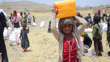 Food supplies deliver to 65 HHs  in Sana'a from Mona Relief for the second month
