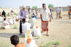 57 food aid baskets delivered to families in Hajjah