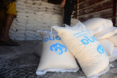90 families in Sana'a received food supplies from Mona Relief