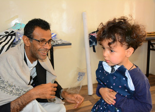 Mona Relief continues for the third day delivering Eid clothing to orphans in Sana'a