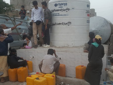 Mona Relief sets up new clean water point in Sana'a