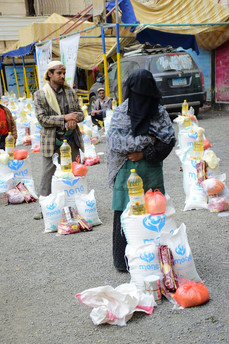 FOOD DISTRIBUTION 27 Aug 2020, SANAA - FUNDED BY DARUL ATFAAL in UK