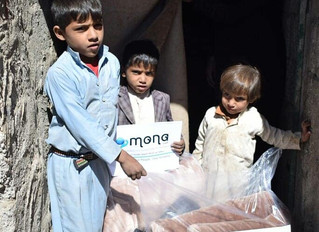 Blankets delivered to 100 families in Sana'a