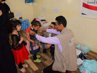 500 orphans in Sana'a receive Eid clothes from Mona Relief
