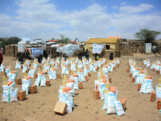 Mona Relief delivers food aid baskets to IDPs in Sana'a and conducts PSS for IDP Children