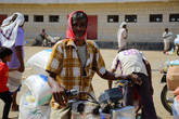 285 food aid baskets delivered to families in Hajjah funded by Humanity First in Germany