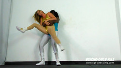SGR0264 Lifted Slammed Squashed - Kassidy crushes Lottie LaLay 8