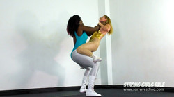 SGR0264 Lifted Slammed Squashed - Kassidy crushes Lottie LaLay 6