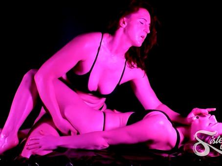 SOS0267 Dark and Intense - Davina Carrington owns Lottie LaLay