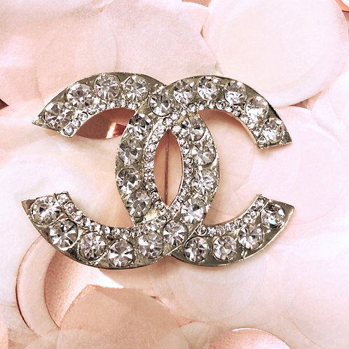 Double C Brooch