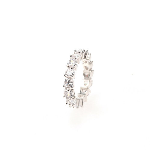 Heart Infinity Ring