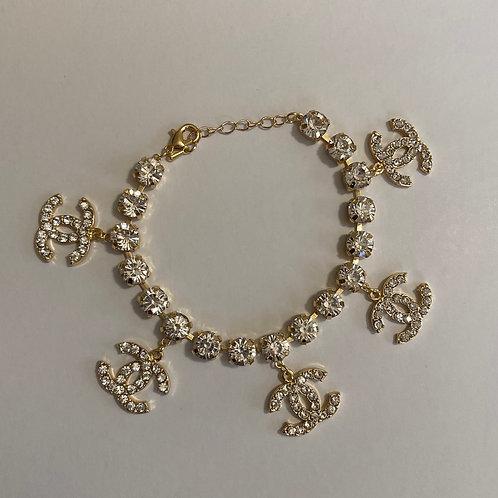 Chanel Inspired Bracelet