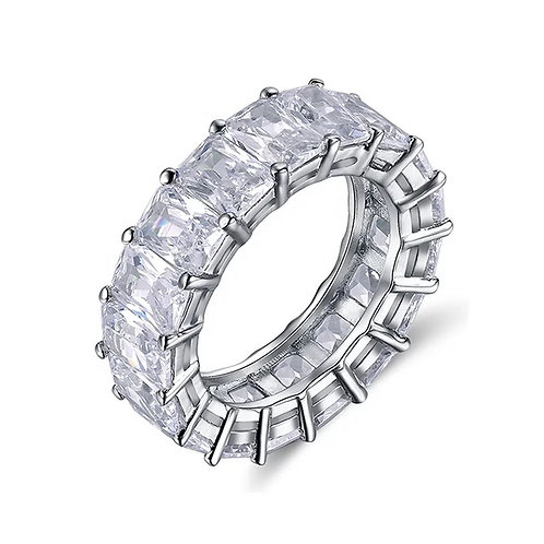 Rectangle Infinity Ring