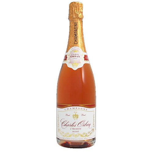 Charles Orban a Troissy Rose Brut Champagne