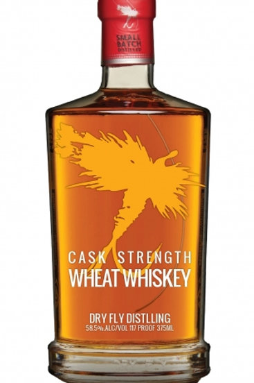 Dry Fly Wheat Whiskey Cask Strength PX Barrel Aged