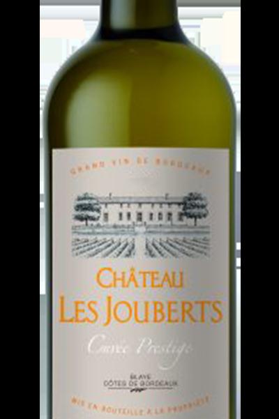 Chateau Les Jouberts Cuvee Prestige Blaye Cotes de Bordeaux Blanc