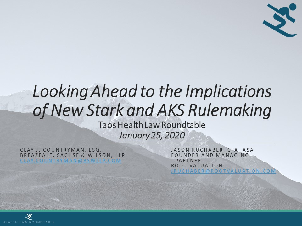 Implications of Stark and AKS Rule Making