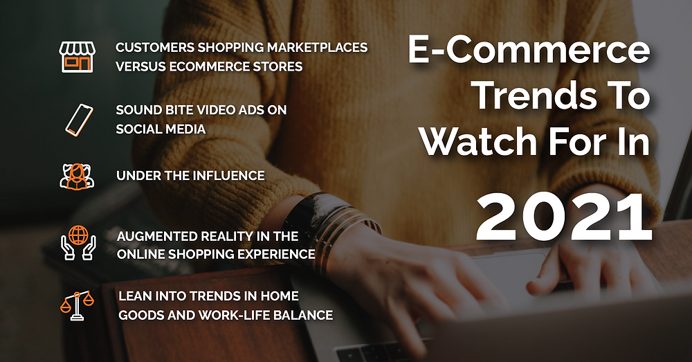 E-commerce Trends to watch for in 2021