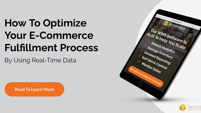 Optimize Your E-Commerce Fulfillment Process with Real-Time Data