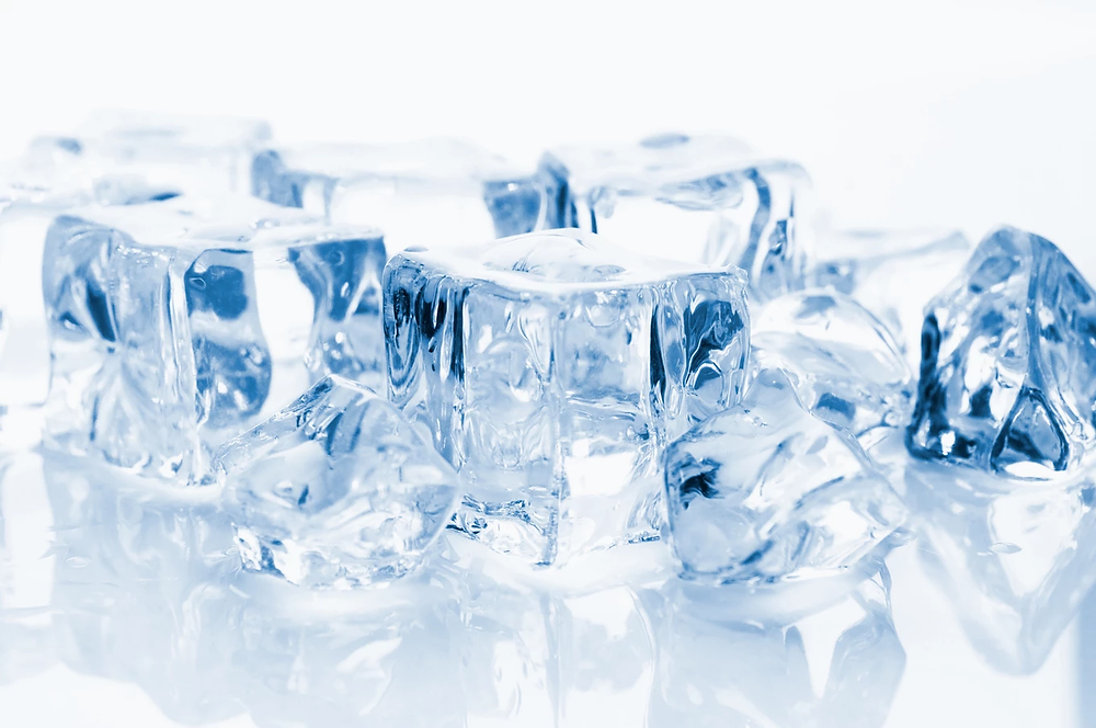 Ice for cold chiropractic therapy
