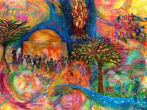 the light of Rebbe Shimon