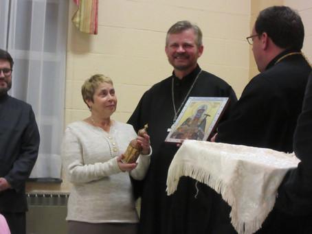 Fr. Volodymyr's farewell