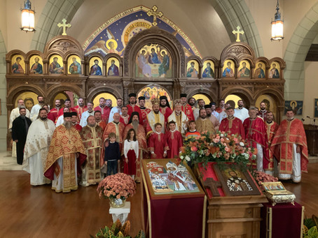 A Glorious Celebration of Two Jubilees in Boston (ENG + SRB)
