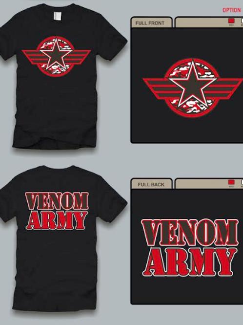 Venom Army T-Shirt
