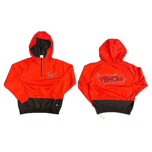 Red & Black Venom Jacket