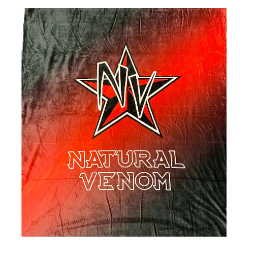 Natural Venom Fleece Blanket