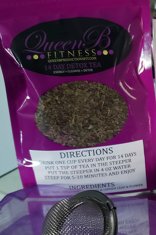 14 Day Detox Tea & Steeper