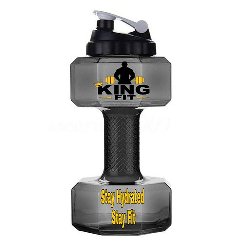 2.l Liter Dumbbell Water Bottle
