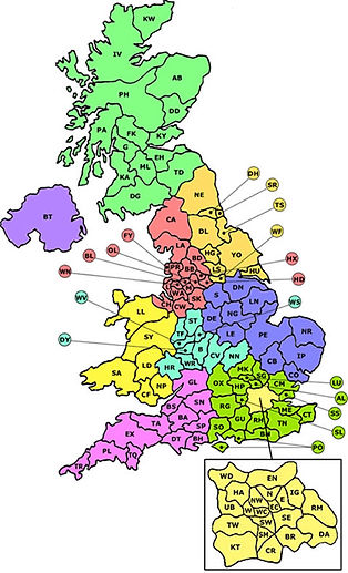 Planning Consent UK Areas Covered