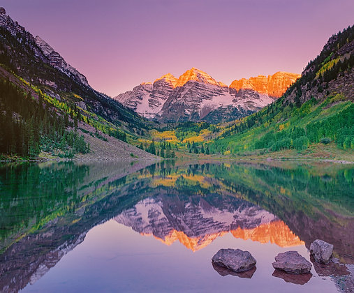 Maroon Bells Reflection #1