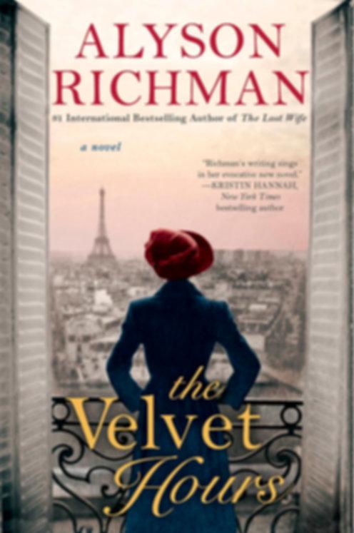 The Velvet Hours Alyson Richman