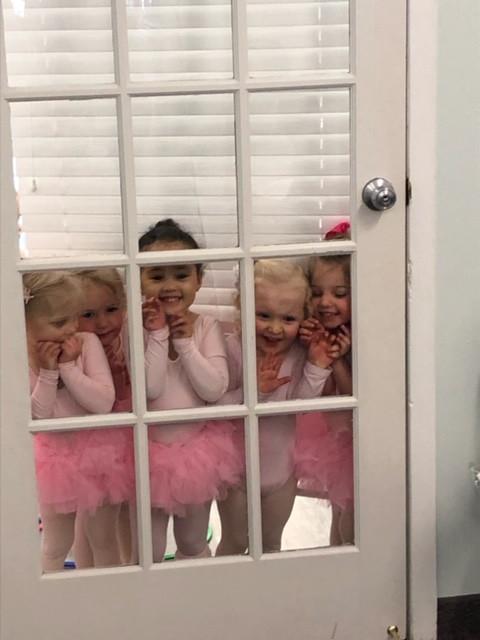 2-Year Olds at Studio Door.JPG