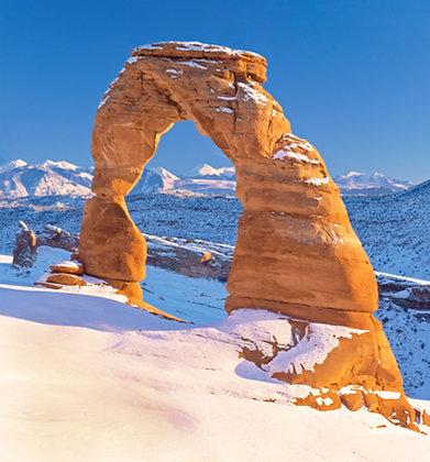 Delicate Arch Winter Portrait